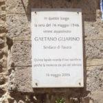 Favara. Si ricorda domani l'uccisione di Gaetano Guarino, primo sindaco eletto dopo la caduta del fascismo