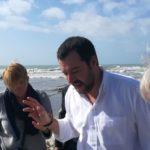 """Scala dei Turchi. Matteo Salvini: """"Invece ospitare i turisti che pagano sfruttano i turisti che sbarcano che non pagano!"""""""
