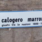 Favara. Intitolazione di una Via all'Eroe favarese Calogero Marrone