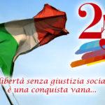 Celebrazione del 73° Anniversario della Liberazione d'Italia.
