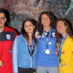 """Trofeo internazionale """"Piskeo"""", arrivano un oro  ed un argento per la nuoto Agrigento"""