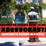 Agrigento. Giovedì 28 giugno la manifestazione pacifica #AdessoBasta in Piazza Pirandello