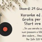 Favara. Karaoke ed anguria presso Villa Ambrosini