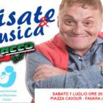 """Favara. Sabato in piazza Cavour lo spettacolo """"Risate & Musica"""" con Fabrizio Bracconeri"""