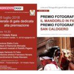 Cultura. Giovedì 26 luglio, la cerimonia di premiazione dei concorsi fotografici sul Mandorlo e San Calogero