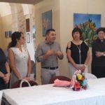 Cultura. Grande successo per la personale di pittura dell'artista Dolores Silveira a Racalmuto