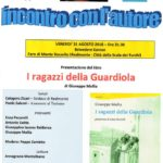 """Cultura. Venerdì 31 agosto a Realmonte si presenta il nuovo libro di Giuseppe Mallia """"I ragazzi della Guardiola"""""""
