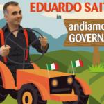 """Spettacolo. Sabato 8 settembre presso Villa Ambrosini """"Andiamo a comandare"""" di Eduardo Saitta"""