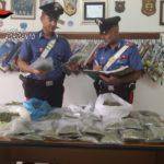 """Blitz all'interno di un'abitazione a Canicattì (Ag). Sequestrati oltre due chili e mezzo di """"Marijuana""""."""