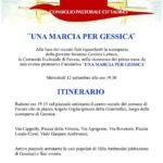 """Favara. Mercoledì 12 settembre """"Una marcia per Gessica"""" organizzata dalla Comunità Ecclesiale"""