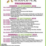 """Cultura Dal 21 al 23 settembre a Raffadali la Quarta Edizione del """"Fastuca Fest"""""""