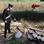"""Scende in campo una """"task force"""" per la lotta al fenomeno degli abbandoni di rifiuti.Cinque le persone denunciate."""