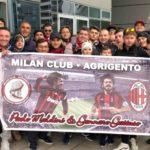 Il Milan Club Paolo Maldini e Gennaro Gattuso a Milano in occasione di Milan vs Juventus