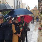 Aragona: il 2 novembre, nonostante la pioggia, si è svolto la commemorazione dei defunti