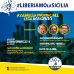 Politica. Domani al Dioscuri (San Leone) la Prima Assemblea Provinciale della Lega Salvini Premier