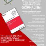 "Cultura. Sabato 17 novembre a Canicattì si presenta ""Giornalismi"" del prof. Francesco Pira"