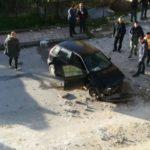 Favara. Auto sfonda una recinzione e precipita per oltre 18 metri (VIDEO)