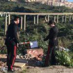 Scoperta e sequestrata discarica abusiva in località Villaseta.