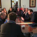 """Favara. Una delegazione di """"Favara Ovest"""" questa mattina ha incontrato Sindaco e assessore. Dibattito positivo"""