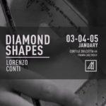 """Favara. Si inaugura oggi """"Diamond Shapes"""" la mostra grafica di Lorenzo Conti presso Cortile Dulcetta"""
