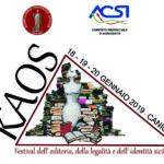 Kaos 2018, riconoscimenti del festival dell'editoria, della legalità e dell'identità siciliana.