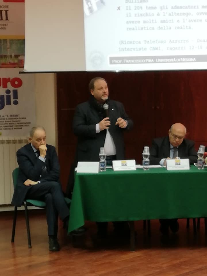 Partecipato il convegno sul cyberbullismo tenutosi all Istituto Fermo di  Licata b8c04e905d44
