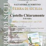 """Favara. Si presenta oggi pomeriggio al Castello Chiaramonte """"Terra di Sicilia"""" del poeta Salvatore Sciortino"""