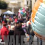 Piazza Cavour gremita per la festa di Carnevale a Favara