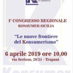 Sicilia. Sabato 6 aprile il Primo Congresso Konsumer a Trapani