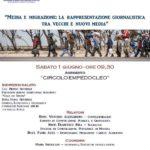 """Agrigento. Sabato 1 giugno, al Circolo Empedocleo, si parlerà di """"Media e Migrazioni: la rappresentazione giornalistica tra vecchi e nuovi media"""""""