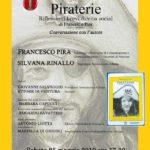 """Cultura. """"Piraterie"""" del prof. Francesco Pira si presenta sabato 25 maggio a Canicattì"""