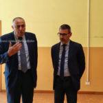 L'on. Roberto Lagalla, visita la Scuola dell'infanzia Sandro Pertini di Canicattì