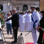 Porto Empedocle. Celebrata oggi la Festa della marina militare italiana