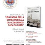 Licata. Venerdì 7 giugno la presentazione del libro sul Maestro Cataldo Curri organizzata dalla Confraternita di San Girolamo della Misericordia