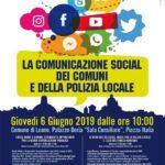 """Cultura. Il Prof. Francesco Pira relatore a Loano nel convegno sulla """"Comunicazione social dei Comuni e della polizia locale"""""""