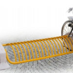 Canicattì. Installazione rastrelliere porta bici in C.so Umberto I