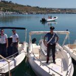 Menfi. Carabinieri e Guardia Costiera sequestrano l'intera banchina di ponente del porticciolo