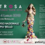 "Favara. La fiorista Antonella Airò presente al Floreal Show ""Estrosa"" 2019"