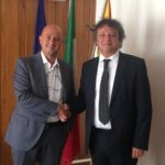 Conflavoro. L'ingegnere Giuseppe Pullara incontra l'assessore regionale Mimmo Turano