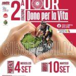 """Cultura. """"Tour del Dono"""". Un trapiantato fa il giro della Sicilia in bicicletta. Tappa anche a Favara"""
