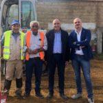 """Aragona: sta nascendo il nuovo stadio """"Totò Russo"""", la soddisfazione del sindaco Giuseppe Pendolino"""