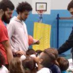 """La Real Basket Agrigento conclude il progetto """"Scuola"""" all'Istituto Esseneto"""