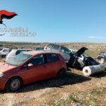 Sequestrato a Lampedusa un cimitero di auto abbandonate. Una denuncia.