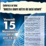"""Cultura. A Ravanusa, venerdì incontro al Liceo su """"Amicizia e Amore nell'era dei social"""" con il sociologo Francesco Pira."""