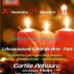 Favara. Sabato 30 novembre e domenica 1 dicembre, tornano i tradizionali Mercatini di Natale organizzati dall'associazione Arte-Fare