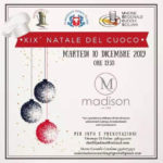 """La 19^ edizione del """"Natale del Cuoco"""" sarà all'insegna della tradizionale cucina siciliana"""
