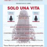 """Cultura. Si presenta domani a Licata """"Solo una vita"""" della scrittrice Mariuccia La Manna"""