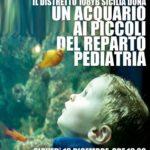 Cultura. Lions Club Distretto 108Yb dona un acquario al Reparto Pediatria dell'Ospedale San Giovanni Di Dio di Agrigento
