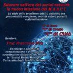 """Favara. Domenica 2 febbraio presso il seminario vescovile """"Educare nell'era dei social network, la nuova missione del MASCI"""", organizzato dalla segreteria regionale scout adulti."""
