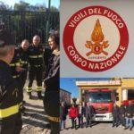 Politica. Michele Sodano (M5S) in visita alla Caserma dei Vigili del Fuoco di Agrigento